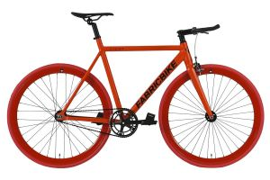 FabricBike Light Track Bicycle - Fully Matte Red