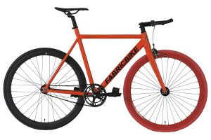 FabricBike Light Track Bicycle - Red & Black 2.0