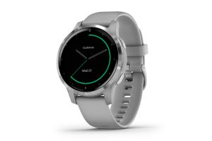 Garmin Vivoactive 4S Music Powder Grey/Silver Smartwatch