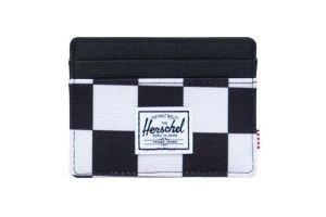Herschel Charlie Wallet - Checker Black/White/Black