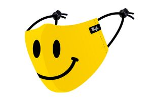 Pacific & Co Smiley Face Mask