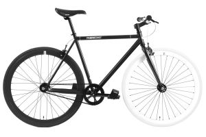FabricBike Single Speed Bicycle - Black & White 2.0