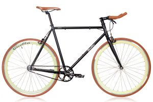 Quella Nero Cappuccino Single Speed Bicycle