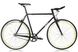 Quella Nero Cream Single Speed Bicycle