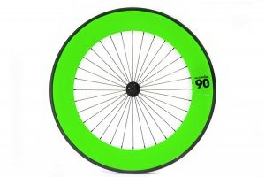 Notorious 90 Front Track Wheel - Green