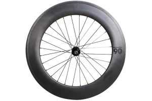 Notorious 90 Front Track Wheel - Carbon