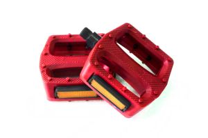 Polo & Bike Pedals - Red