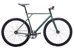 Polo and Bike Cmndr CA1 Green Single Speed Bicycle