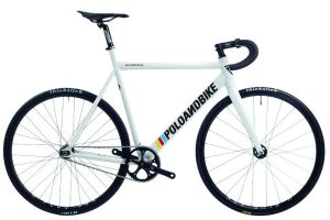 Polo and Bike Williamsburg New Gen Track Bike - White