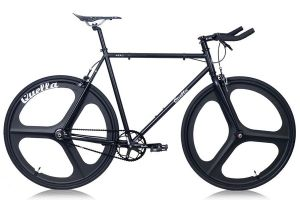 Quella Stealth Black MK3 Single Speed Bike