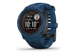 Garmin Instinct Solar Blue Smartwatch