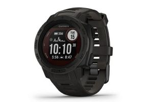 Garmin Instinct Solar Graphite Black Smartwatch