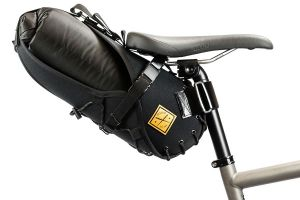 Restrap 8L Saddle Bag - Black/Black
