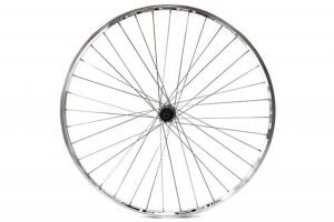 Excel 700c (ETRTO 622x13) Rear Wheel with 7S Cassette - Polished