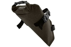 Brooks Scape Saddle Roll Bag - Mud Greed