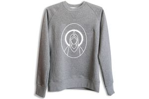Santafixie x Nvayrk Big Logo Sweatshirt - Grey