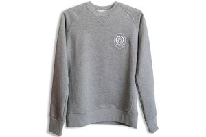 Santafixie x Nvayrk Small Logo Sweatshirt - Grey