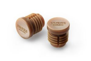 Brooks Bar End Plugs - Brown