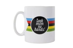 Look Mum No Hands! World Champ Mug
