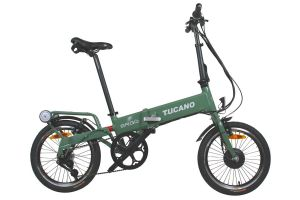 Tucano Ergo LTD Folding e-Bike - Green