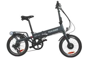 Tucano Ergo Folding e-Bike - Black