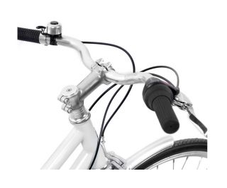 Finna Breeze Classic Bicycle - Pearl White