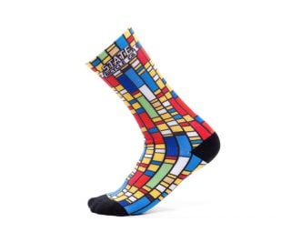 State Bicycle x The Simpsons Color Block Socks