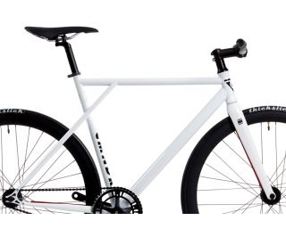 Polo and Bike Cmndr S.S.G. White Single Speed Bicycle