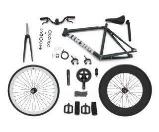 Fixie and Single Speed Create New Edition - CRBLK/GRN