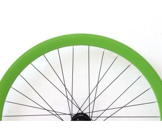 G42 Front Fixie Wheel - Green