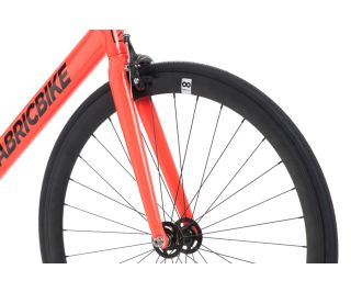 FabricBike Air+ Track Bicycle - Light Red