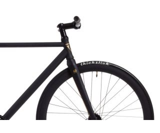 Polo and Bike Cmndr S.A.S. Black Single Speed Bicycle