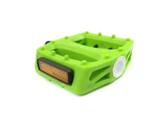 Polo & Bike Pedals - Lime Green