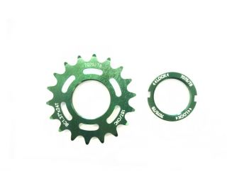 Polo & Bike 18T Track Sprocket with Lockring - Green
