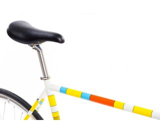 State X The Simpsons Color Block Single Speed Bike