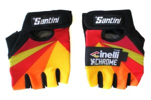 Team Cinelli Chrome Gloves