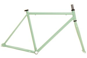 700c Fabric K Fixed Gear Frame - Green