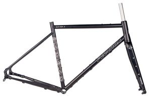 Fyxation Quiver X Gravel Frameset - Black
