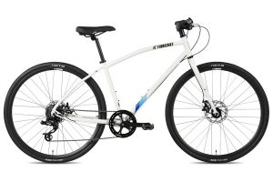 FabricBike Commuter Bicycle - White