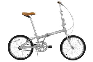 FabricBike Folding Bicycle - Space Grey