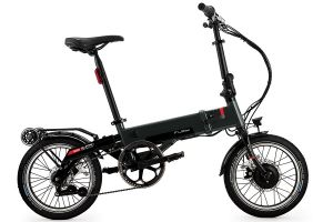 Flebi Supra 3.0+ Folding e-Bike - Grey Raptor
