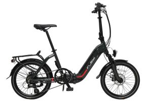Flebi Swan Lite Folding e-Bike - Grey Raptor