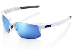 Glasses 100% Speedcoupe - White/Blue