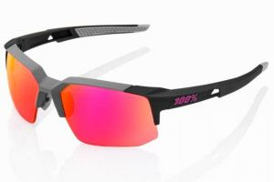 Glasses 100% Speedcoupe Soft Tact - Graphite/Purple