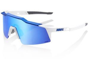 Glasses 100% Speedcraft SL - White/Blue