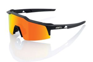 Glasses 100% Speedcraft SL Soft Tact - Black/Orange