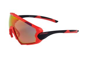 Sunglasses Eltin Full Oversize Red/Black