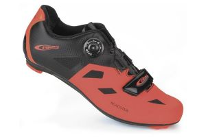 Ges Roadster Cyclist Shoes - Orange/Black