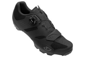 Giro Cylinder II Cyclist Shoes - Black