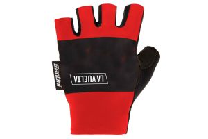 Santini Alto de L'Angliru Gloves - Red